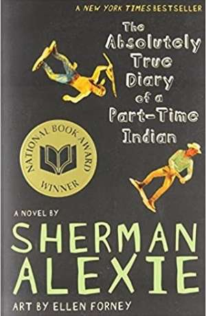 Absolutely true diary of a part time indian cover