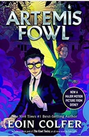 Artemis Fowl cover