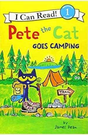 Pete the Cat Goes Camping cover