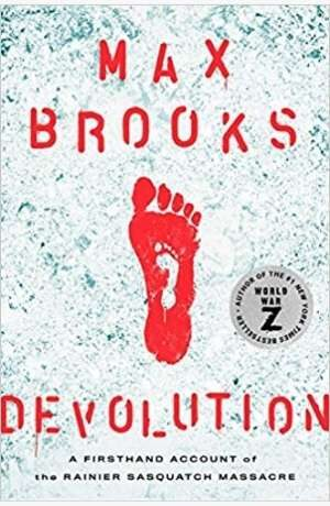 Devolution by Max Brooks cover
