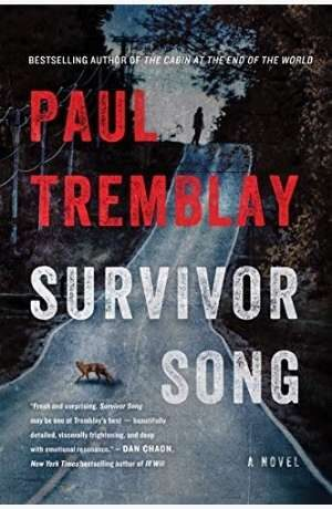 Survivor Song by Paul Tremblay cover